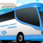 How to take the bus from Bangkok Suvarnabhumi Airport to Pattaya