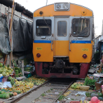 Train Suspended at Mae Kong Train Market For 6 months