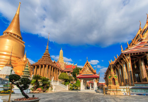 Wat Phra Kaew at the Grand Palace Bangkok