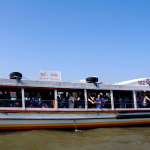 Taking A ride On The Chao Phraya Express Boat