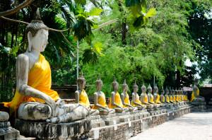 Wat Yai Chai Mongkol Ayutthaya